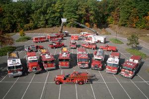 Weber's Auto and Truck Repair fleet service Fire