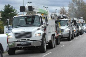 Weber's Auto and Truck Repair fleet service trucks